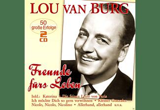 Lou Van Burg - Freunde Fürs Leben-50 Große Erfolge  - (CD)