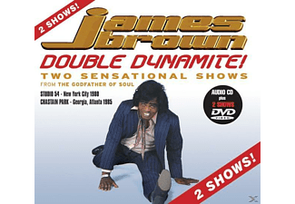 James Brown - Double Dynamite  - (CD + DVD Video)