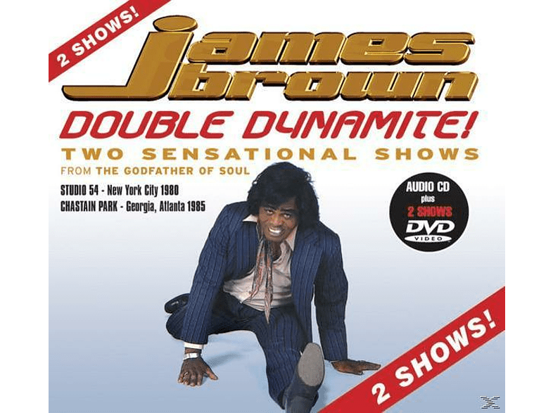 James Brown - Double Dynamite [CD + DVD Video]
