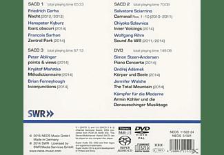 VARIOUS - Donaueschinger Musiktage 2014 (+Dvd)  - (SACD Hybrid)