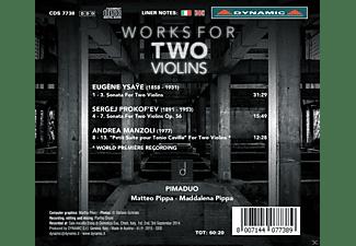 Matteo Pippa, Maddalena Pippa - Werke Für Zwei Violinen  - (CD)