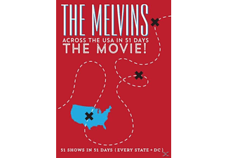 Across The Usa In 51 Days: The Movie DVD