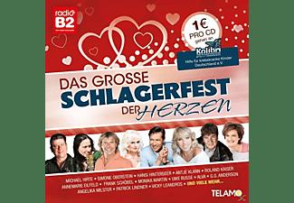 VARIOUS - Das große Schlagerfest der Herzen  - (CD)