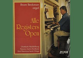 Bram Beekman - ALLE REGISTERS OPEN  - (CD)