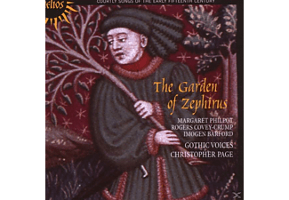 Gothic Voices, Christopher Page: Gothic Voices - The Garden Of Zephirus - (CD)