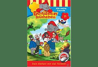 - Benjamin Blümchen 71: Alle meine Freunde  - (MC)