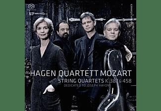 Hagen Quartett - Streichquartette Nr. 14 & 17  - (SACD Hybrid)