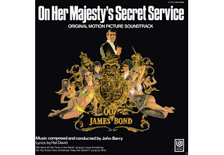 John Barry & Louis Armstrong - On Her Majesty's Secret Service OST Vinyl