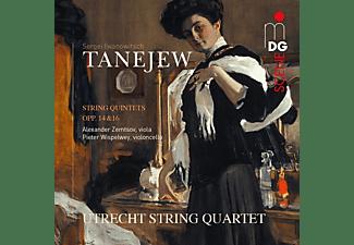 Alexander Zemtsov, Pieter Wispelwey, Utrecht String Quartet - Streichquintette Op.14+16  - (CD)