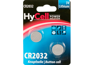 ANSMANN CR2032 CR2032 Knopfzelle, Lithium, 3 Volt 2 Stück
