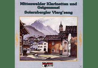 MITTENWALDER KLARINETTENM./SOIERNBERGER - Volksmusik aus Werdenfels  - (CD)