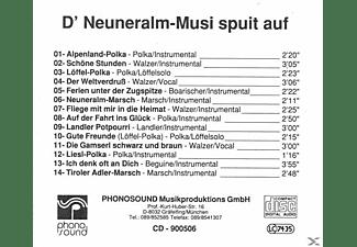 NEUNERALM MUSI NR.3 - D' Neuneralm-Musi spuit auf  - (CD)
