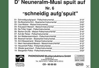 NEUNERALM MUSI NR.6 - Schneidig Aufg'spuit  - (CD)