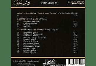 Mario/camerata Orphica Hossen - Vivaldi: Four Seasons  - (CD)