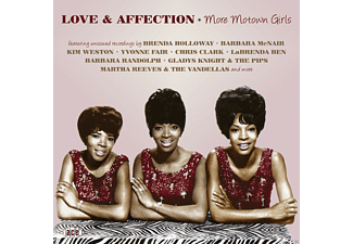 VARIOUS - Love & Affection-More Motown Girls  - (CD)