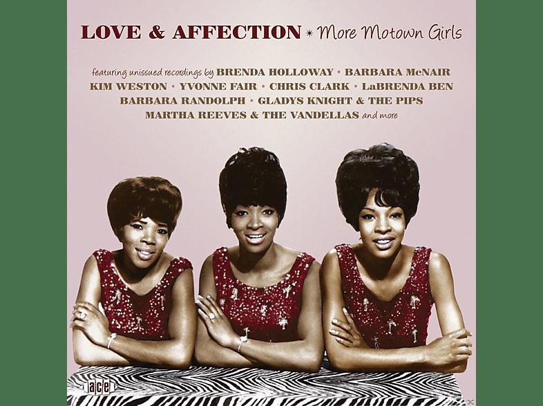 VARIOUS - Love & Affection-More Motown Girls [CD]