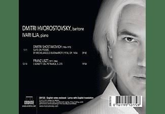 Ivary Ilja, Dmitri Hvorostovsky - Michelangelo-Suite/Petrarca-Sonette  - (CD)