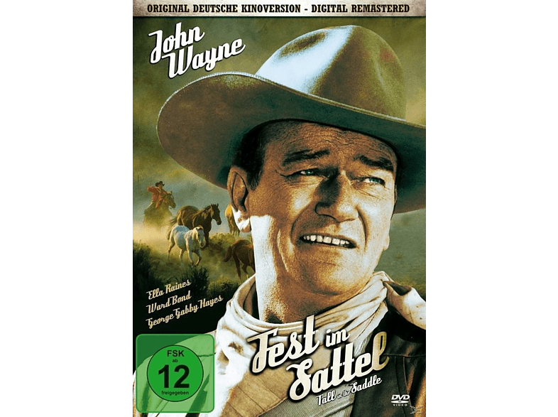 Fest im Sattel - Tall in the Saddle [DVD]