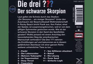 - Die drei ??? 120: Der schwarze Skorpion  - (CD)