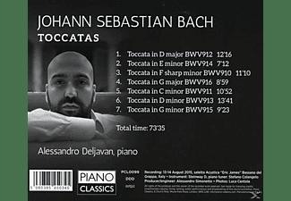 Alessandro Deljavan - Toccatas  - (CD)