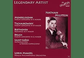 Milstein/Maazel/Prager Philharmonisches Orchester - Nathan Milstein,Violine  - (CD)