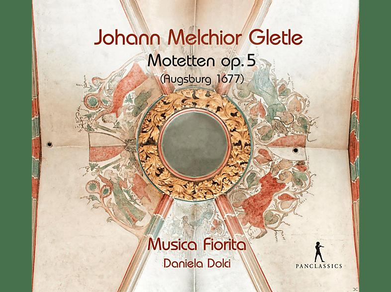 Daniela Dolci, Musica Fiorita - 36 Motetten op.5 (Augsburg 1677) [CD]