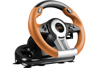 SPEED LINK Drift O.Z. Racing Wheel for PC & PS/3 (SL-6695-BKOR-01)