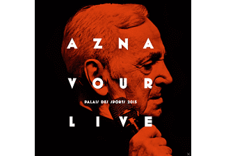 Charles Aznavour - Aznavour Live-Palais Des Sports 2015 (Lim.Ed.) - (CD + DVD Video)