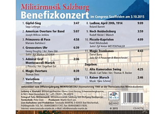 Militärmusik Salzburg - Galakonzert 2015-Live  - (CD)