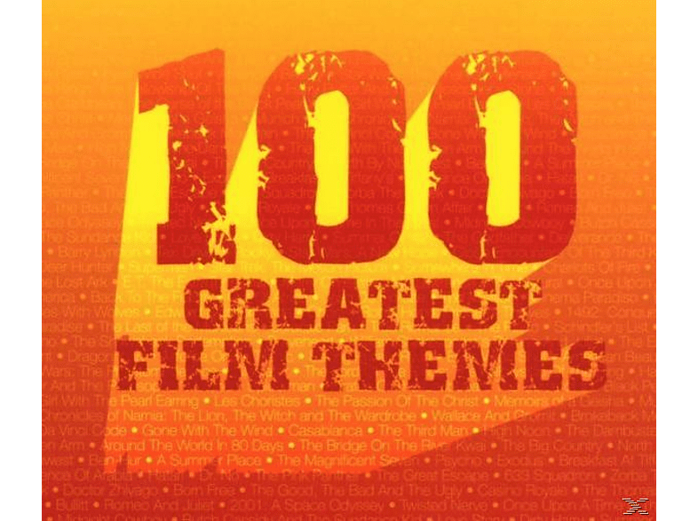 VARIOUS, Ost-original Soundtrack - 100 Greatest Film Themes [CD]