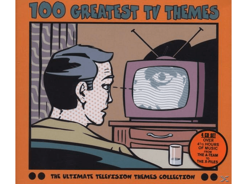 VARIOUS, OST/TV-Soundtracks - 100 Greatest Tv Themes [CD]