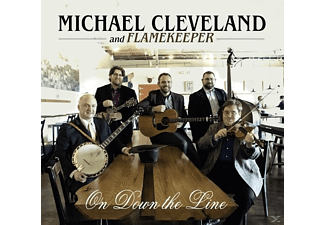 Michael And Flamekeeper Cleveland - ON DOWN THE LINE  - (CD)
