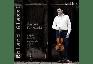 Roland Glassl - Suiten Für Viola  - (CD)