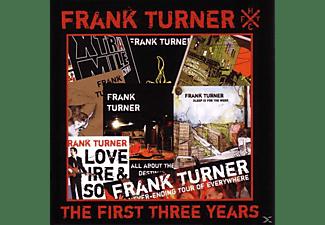 Frank Turner - First Three Years  - (CD)