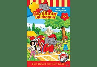 - 104 - Benjamin Blümchen - Die Zoo Olympiade  - (MC)