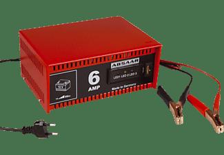 ABSAAR 77905   Batterie-Ladegerät, Rot/Schwarz