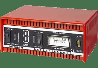 ABSAAR 77911 Batterie-Ladegerät 8 Ampere Auto/Motorrad Batterie-Ladegerät, Rot/Schwarz