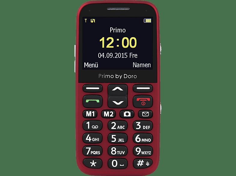 DORO Primo 366 Seniorenhandy, Rot