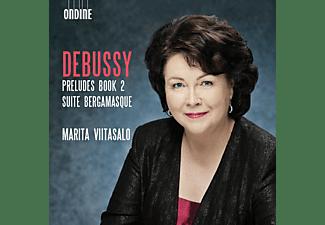 Marita Viitasalo - Preludes Buch 2/Suite Bergamasque  - (CD)
