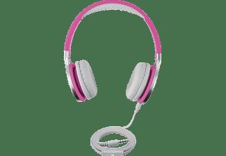 ISY IHP-1600-PI, On-ear Kopfhörer Pink