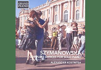 Alexander Kostritsa - Sämtliche Tänze Für Klavier Solo  - (CD)
