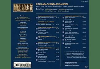 Tetraktys - O Tu Cara Scienca Mie Musica  - (CD)