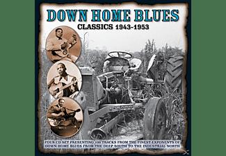 VARIOUS - DOWN HOME BLUES CLASSICS 1943-1954  - (CD)