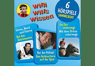 Willi Wills Wissen - (2)Sammelbox Mit 6 Hörspielen  - (CD)