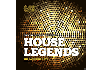 VARIOUS - Groove Odyssey Pres House Legends  - (CD)
