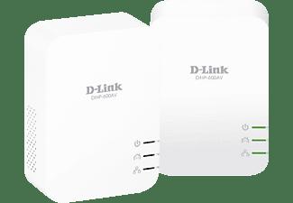Kit de adaptadores PLC - D-Link DHP-601AV, 1000 Mbps
