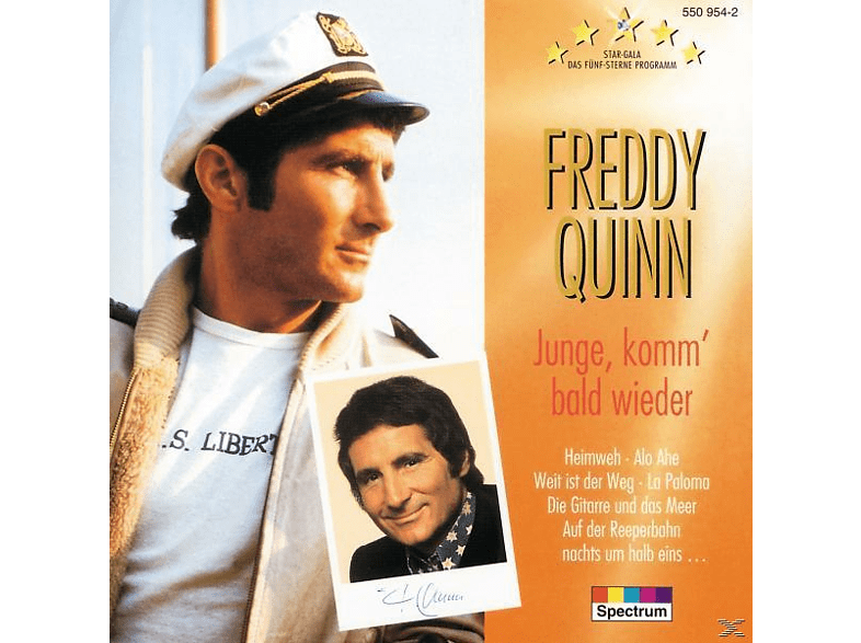Freddy Quinn - Star Gala-Junge,Komm' Bald Wieder [CD]