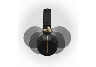 PIONEER DJ HDJ-700-N, On-ear Kopfhörer Schwarz/Gold