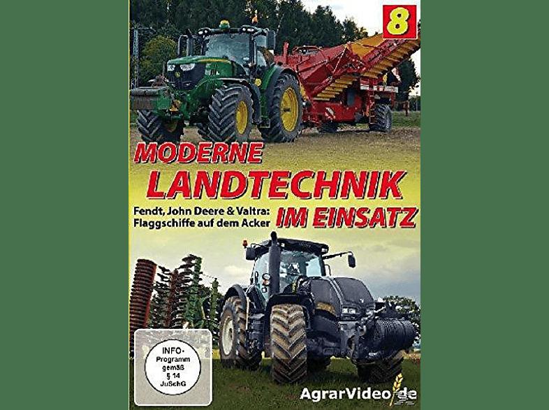 Moderne Landtechnik im Einsatz Teil 8 - Flaggschiffe auf dem Acker - Fendt, John Deere & Valtra [DVD]