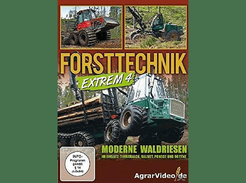 Forsttechnik Extrem 4 - Moderne Waldriesen im Einsatz: Timberjack, Valmet, Ponsse und Rottne [DVD]
